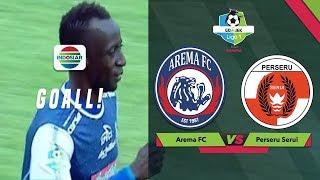 Goal Makan Konate - AREMA FC (1) vs (0) PERSERU SERUI | Go-Jek Liga 1 bersama Bukalapak