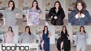 BooHoo Plus TRY ON HAUL!  Plus Size Fashion 