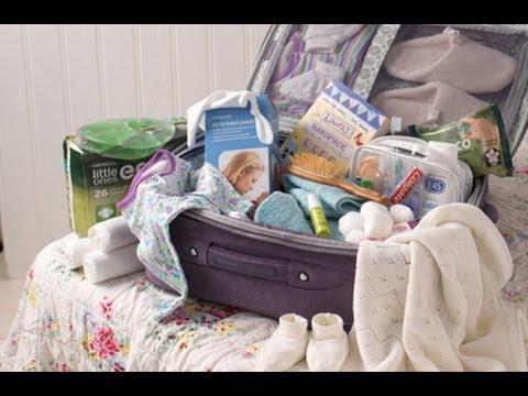 تجهيز حقيبة Baby | الأغراض التي لا يجب نسيانها