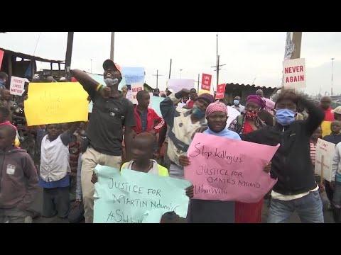 george-floyd-protests:-s.-africa,-kenya,-ghana-march-against-police-brutality