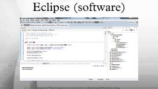 Eclipse (software)