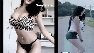 Tổng hợp clip các em hot girl, gái xinh đẹp, nhãy nhót live stream show hấp dẫn - p1