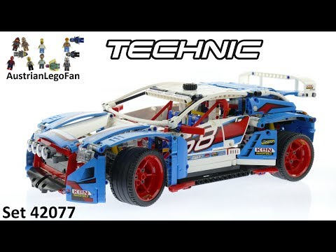 Lego Technic 42077 Rally Car - Lego Speed Build Review
