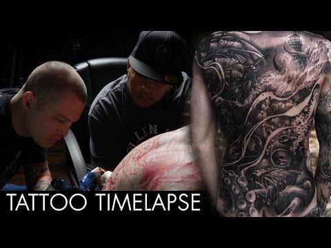 Tattoo Timelapse - JP Alfonso And Luke Palan