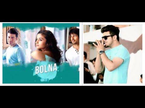Bolna Kapoor & Sons  Sidharth Malhotra  Alia Bhatt  Fawad Khan - Cover By Shah Rukn E Alam