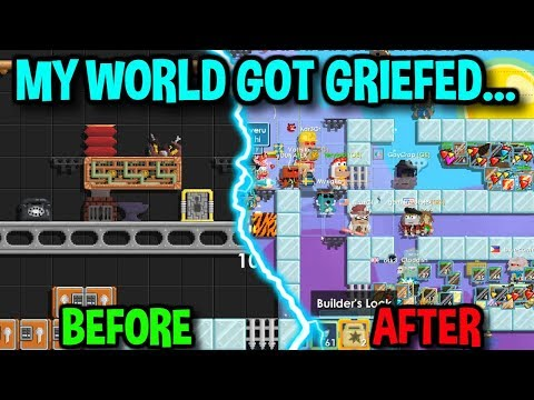 MY WORLD GOT GRIEFED... | Growtopia
