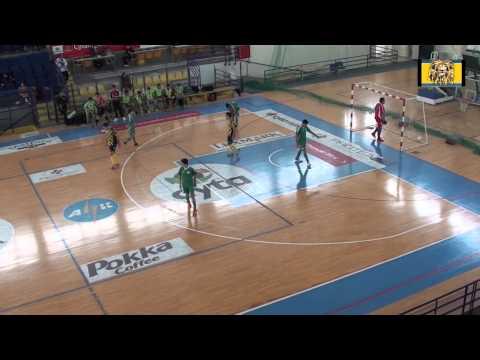 ΑΕΛ - ομόνοια  Futsal u17 16/12/12 | www.lions-radio.com