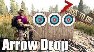 7 Days to Die - Arrow Drop - Bows vs Crossbows vs Compound Bows (Alpha 17)