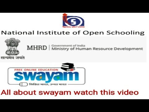 All About SWAYAM D.el.ed Free/cheapest online एजुकेशन college degree courses by nios.