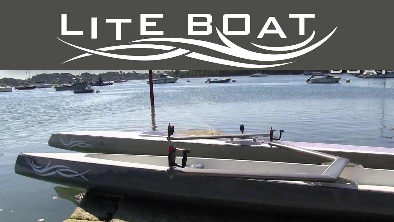 Le Liteboat Un Nouveau Concept De Bateau A Rames Youtube