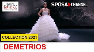 DEMETRIOS Collection 2021 - Valmont Barcelona Bridal Fashion Week 2020