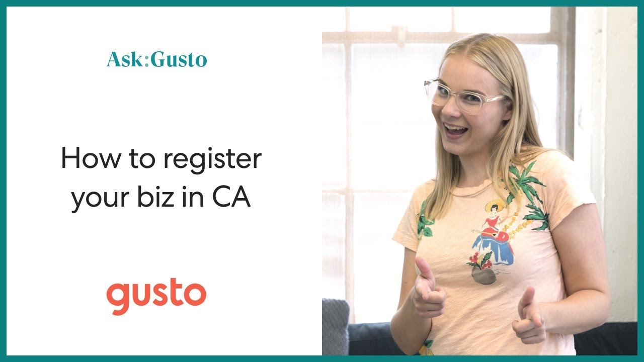 Unknown Facts About How To Register A Business In California