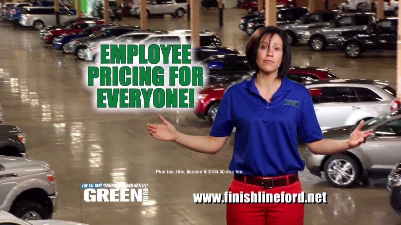 Green Ford Peoria >> Green's Finish Line Ford May 2013 New Car Commercial - YouTube