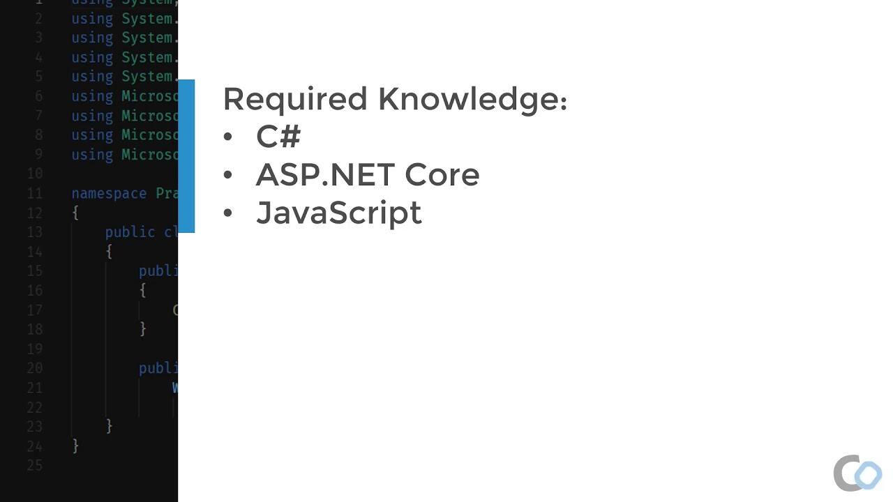 Practical ASP.NET Core SignalR | Prerequisite