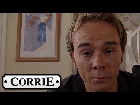 David Leaves The Children An Emotional Message - Coronation Street