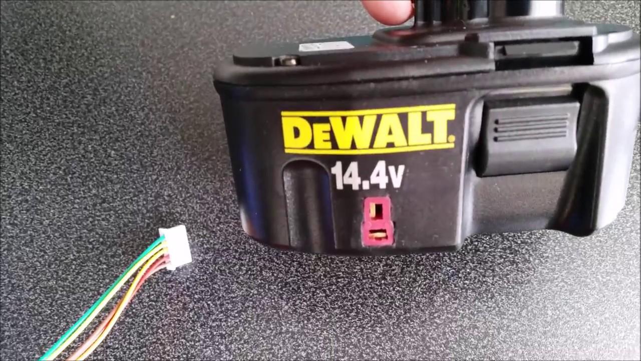 Dewalt 14 4v Xrp Battery Pack Conversion To Lithium 4s Li
