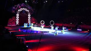 "Circus Trip - Ringling Bros. and Barnum & Bailey - ""Wooly Mammoth"" and some clowns."