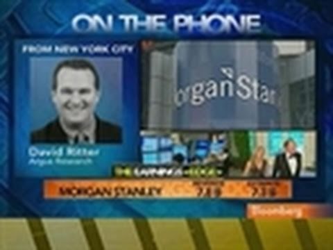 Ritter Calls Morgan Stanley Earnings `Inconsistent'