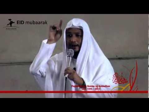 Khutba Eid Al Fitr 1434/2013 - Taqwa ang ating gantimpala