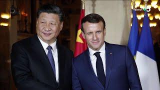 Macron - Xi Jinping : rencontre au sommet - C à Vous - 25/03/2019