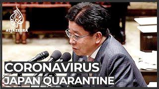Coronavirus: Japan gov't defends handling of ship quarantine