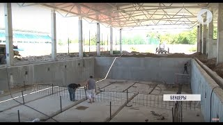 Спортивная стройка в Бендерах: ремонт бассейна