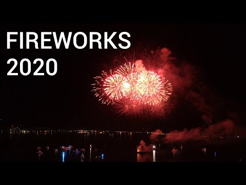 New Year's 2020: Jamaica Fireworks Show At Waterfront Downtown Kingston