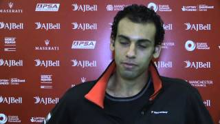 Squash :Two minutes with Mohamed Elshorbagy