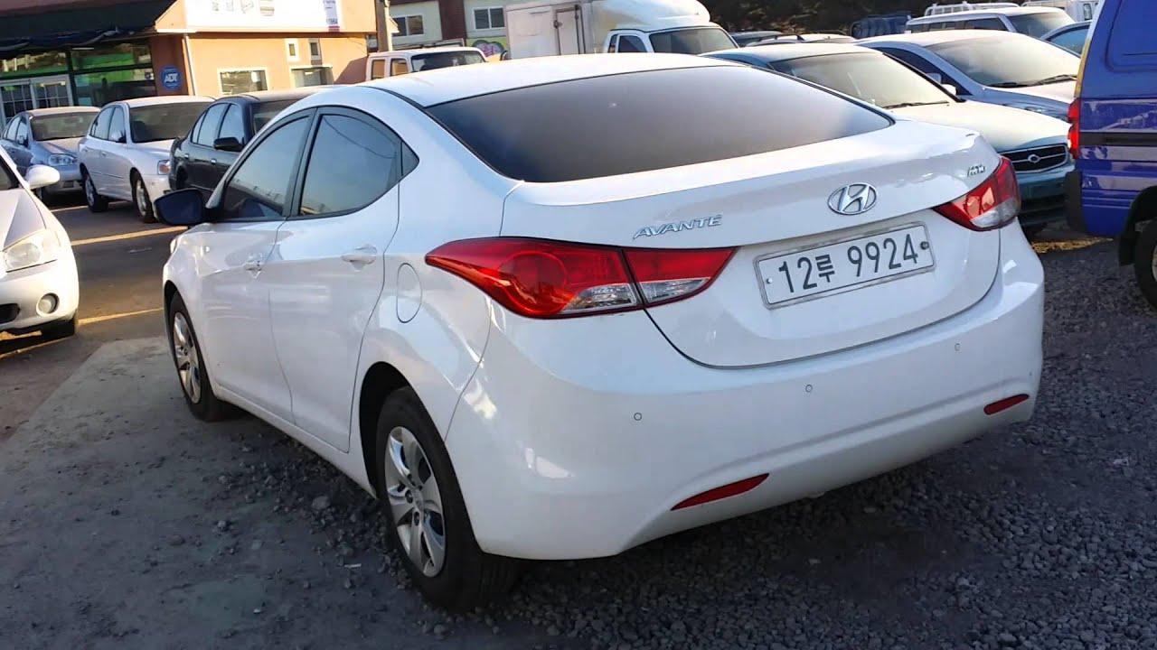 Korean used Car Hyundai Avante MD Elantra Seoul Trading