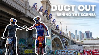 Behind the Scenes Vlog | Robbie Maddison and Tyler Bereman's LA Freeride | Duct Out