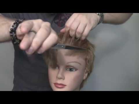 Short Haircutting Techniques