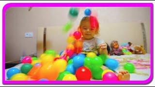 Anabella si bilutele colorate  Invatam culorile cu Anabella Show