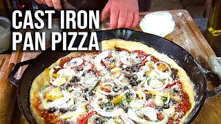 Pan Pizza recipes by the BBQ Pit Boys