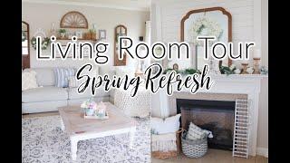 Spring Living Room Refresh! Petal & Stone