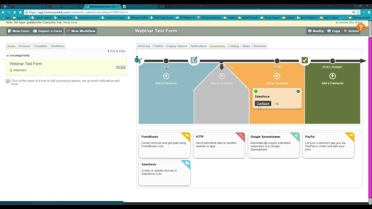 Building Salesforce Forms with Form Assembly With Fund Management ...