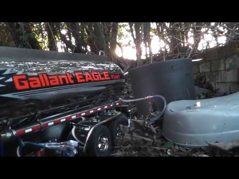 Tamiya Mercedes Gigaspace 3363 6x4 and Working Tanker Trailer Filling up