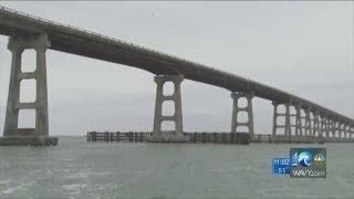 Lauren Compton reports on Bonner Bridge closing