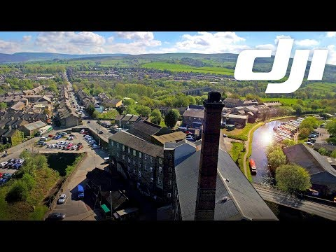 Drone Footage Swizzels Matlow Ltd Mill Factory 2.7k in Beautiful Derbyshire England