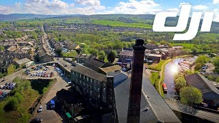 Drone Commercial Footage Swizzels Matlow Ltd Mill Factory 2.7k Derbyshire