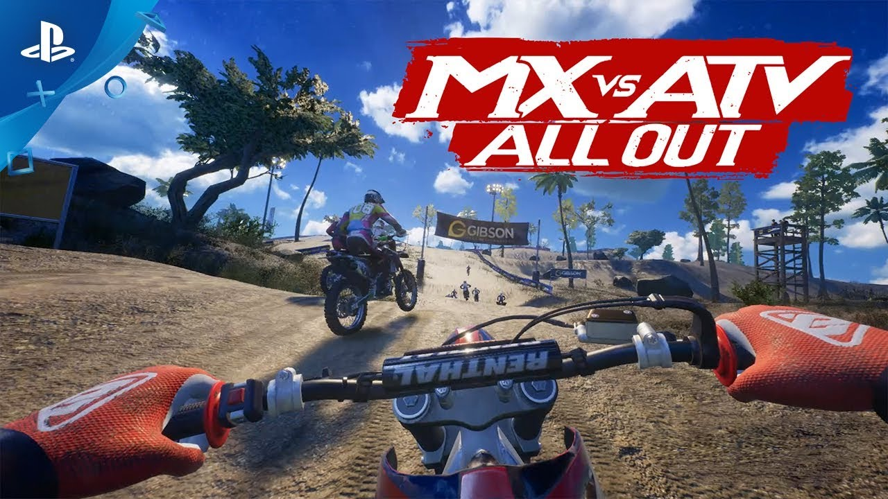mx vs atv all out gameplay trailer and new information. Black Bedroom Furniture Sets. Home Design Ideas