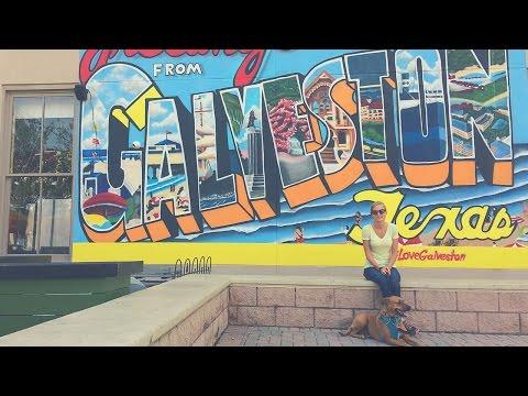 A Day in Galveston Texas 🏖🍔 Full Time RV Living | Exploring Galveston Island Downtown & Beaches