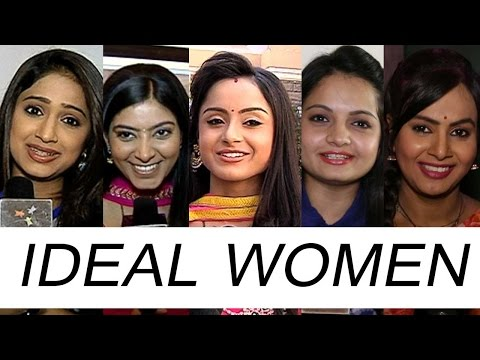 Telly Beauties Speak About The Ideal Women Of Their Life