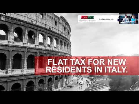 The New Italian Flat Tax Regime - Golden Investor Visa