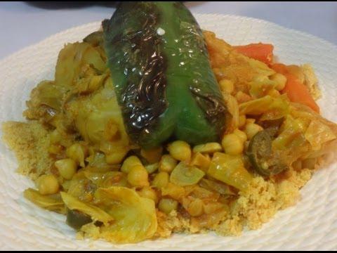 How to make couscous the Tunisian way - Le Couscous Tunisien - الكسكسي التونسي