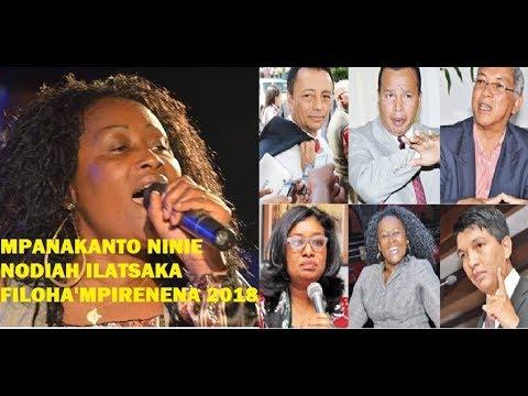 Ninie Nodiah Ilatsaka Filoha'mpirenena 2018