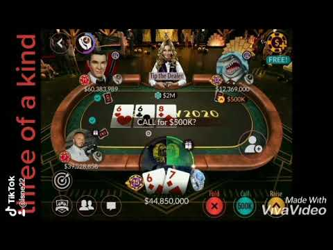Poker Three Of A Kind Youtube