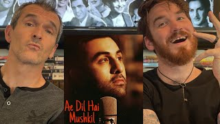 Ae Dil Hai Mushkil Title Track REACTION!! - Ranbir, Anushka | Arjit Singh