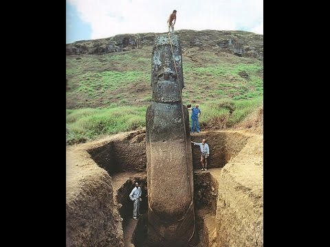 Easter Island Heads Have Bodies Youtube