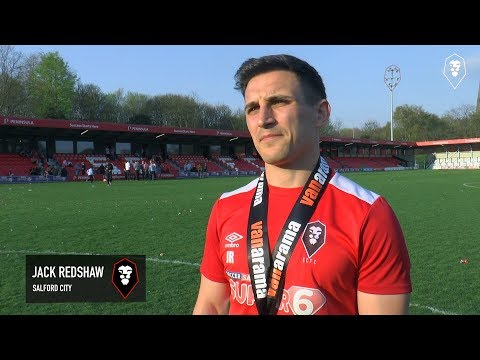 NATIONAL LEAGUE NORTH CHAMPIONS | Reaction from Jack Redshaw