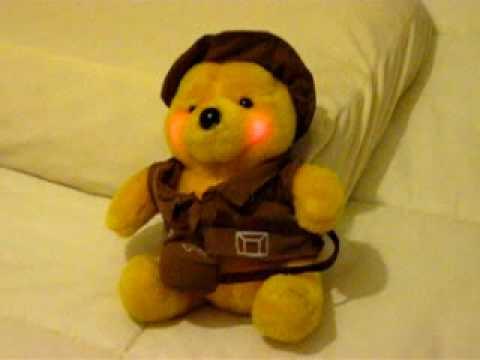 Oso de Peluche Pescador Cantando, Teddy bear singing you are my ...